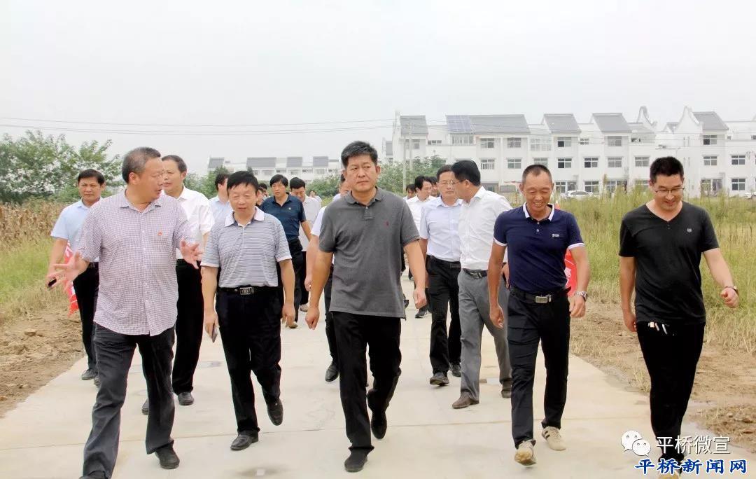 李灵敏调研西大岗淮河治污和绿化工作时强调: 净化一片碧水 造福一方百姓
