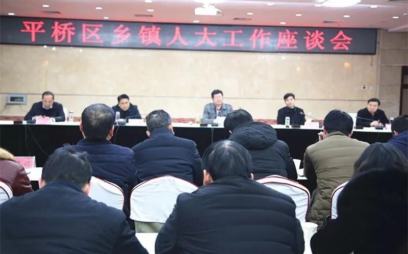 平桥区人大常委会召开全区乡镇人大工作座谈会