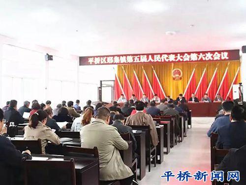 邢集镇第五届人民代表大会第六次会议召开